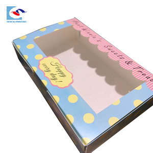 New customized sweet and treats paper gift cardboard box