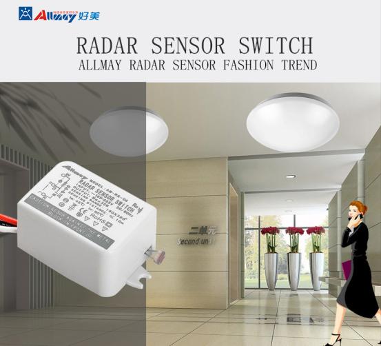 Apply To Led Light 35w Round Shape Square Shape Motion Sensor ...