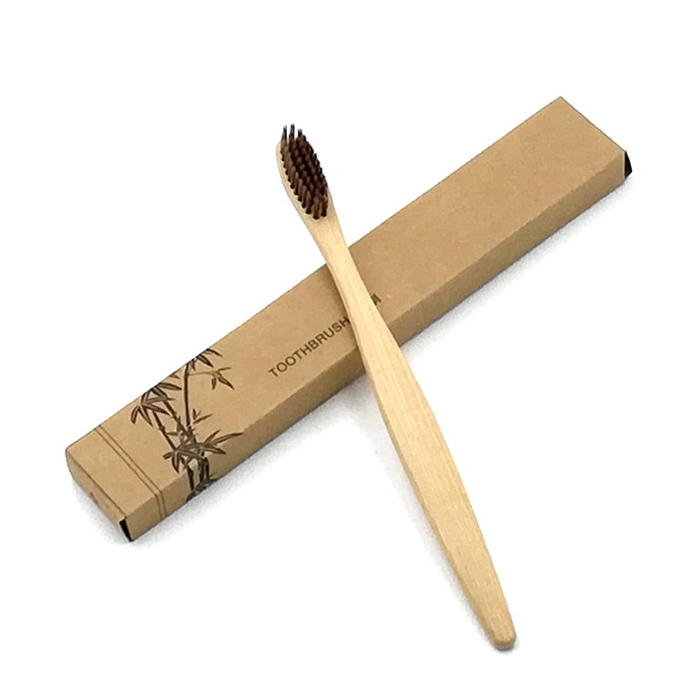 Low MOQ Wholesale Eco-friendly <strong>Bamboo</strong> Toothbrush <strong>Bamboo</strong> 100% Biodegradable
