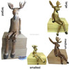 wooden sitting Moose handicrafts usded as gift items or for home decor