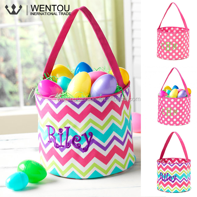 Easter wholesale source quality easter wholesale from global easter wholesale monogrammed canvas easter tote negle Image collections