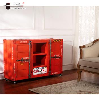 Muebles Antiguos Personalizable Metal Cocina Cajones Tablero Lateral ...