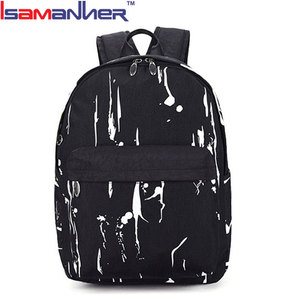 Top quality customized printing export new design school bags for teenagers