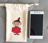 Hoesale 100% Cotton Pouch Bags, Small Mini Drawstring Pouches, High Quatity Cotton