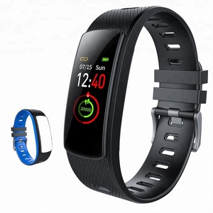 Colorful Intelligent I6 HRC Smart Bracelet With SDK Heart Rate Fitness Tracker Watch Sport Wristband Pedometer OEM Factory