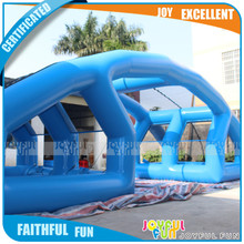 China factory giant welding sport, towing sticky ball game, inflatable sport game