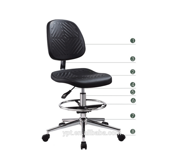 Anti-static chair laboratory lift backrest Chair/ESD Chair/Anti-static work chair