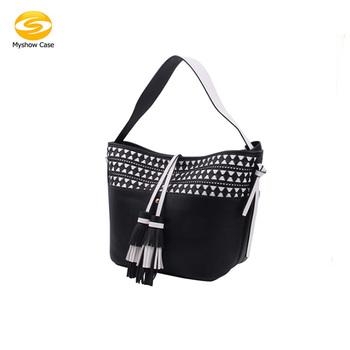 Fashion Women S Las Waterproof Tassel Shoulder Beach Traveling Handbags Tote Leather Bags