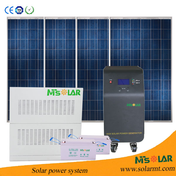 Off Grid Stand Alone Solar Pv Enenrgy System 5kw Enenrgy