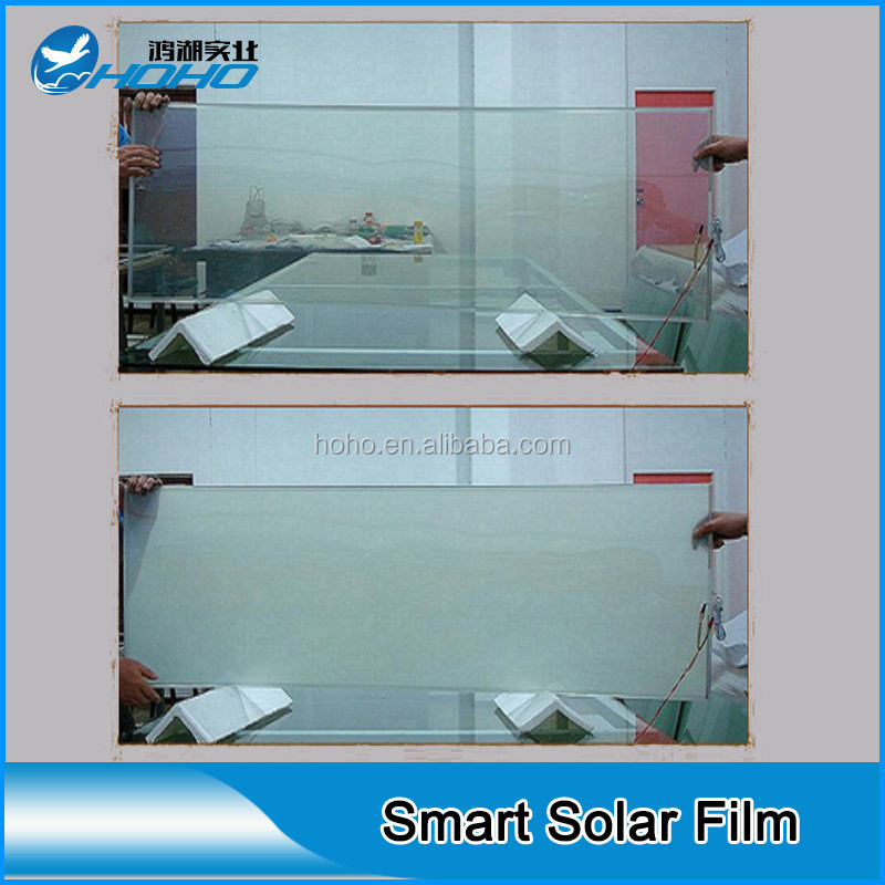 2016 new product self adhesive smart privacy glass film window film buy electronic switchable. Black Bedroom Furniture Sets. Home Design Ideas