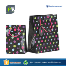 Attractive Promotion Recycled Art Paper Sac Papier Bag for Candy