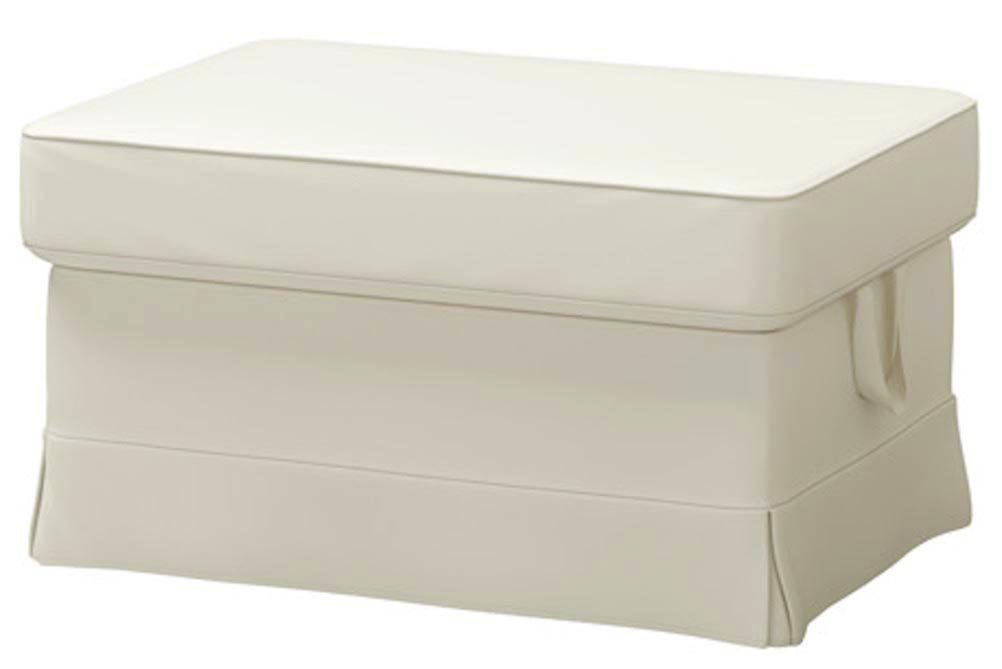 Get Quotations · The Beige Ektorp Footstool Cover Replacement Is Custom  Made For Ikea Ektorp Ottoman Or Stool Slipcover