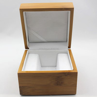 Wholesale watch box wood with custom logo fast delivery time