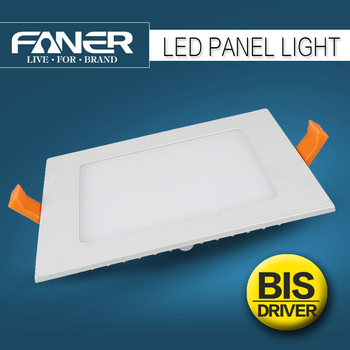 Bis Fcc Approved Led Panel Light Raw Material Skd Supplier