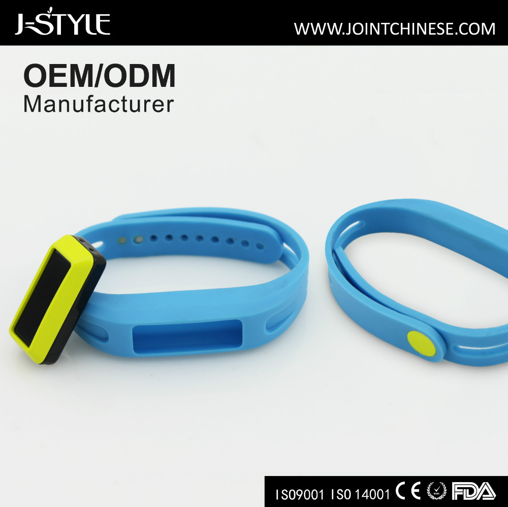 J-style 3d Bracelet Bluetooth Activity Tracker Like Fitbit Fitness ...