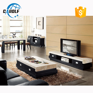 best cheap ed7bb 81bc6 black oak base marble top tv unit