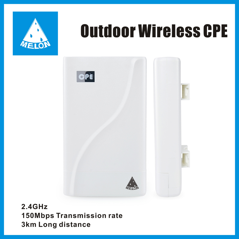 3km long receving distance Ralink RT3052 outdoor wireless CPE support 24V POE Melon N828
