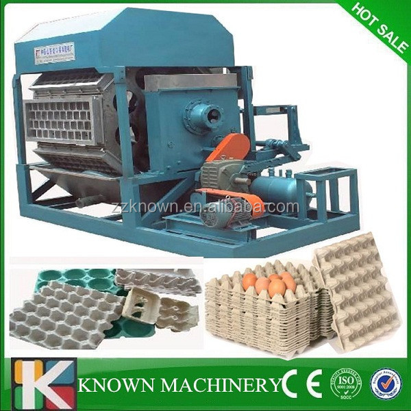 Factory Directly offer cheap paper egg tray making machine price,small egg tray machine