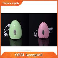 unique egg shape design usb computer speaker with fragrance function.