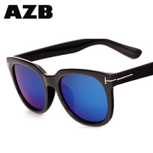 AZB High Quality 2017 factory direct eyeglasses big frame street lovers sunglasses dropshiping