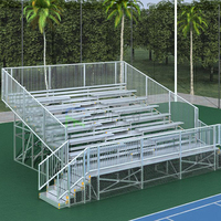 Indoor event gym retractable folding seat for bleachers