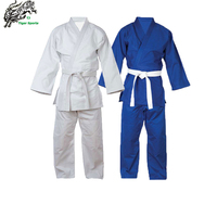 450g 100% cotton bamboo fabric double weave judo gi