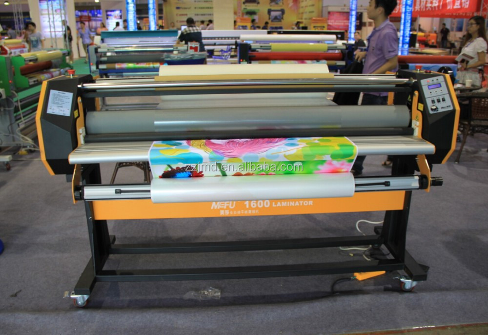 Automatic Single Sided Roll Graphic Hot Roll Laminator