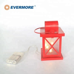 Evermore Christmas Battery Led Candle Light Lantern