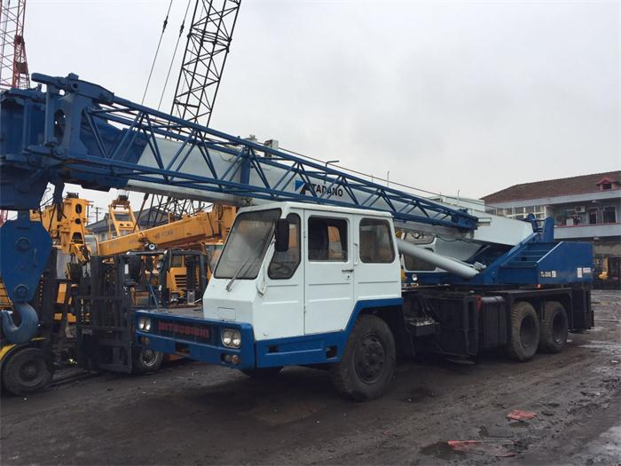 20 ton truck crane original Japan construction machinery TL200E tadano used crane