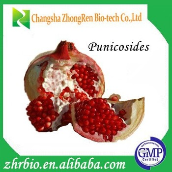 pomegranate concentrate Punicosides pomegranate peel extract