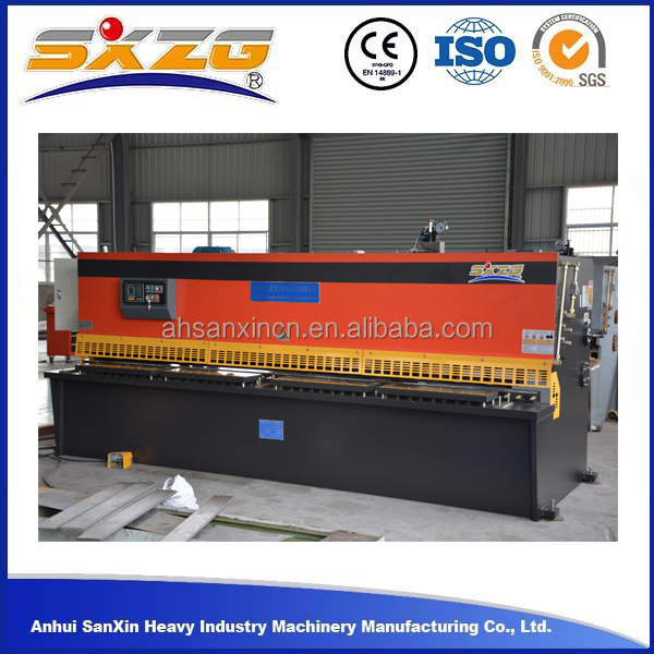 2016 types of hand used hydraulic shearing cutting machine