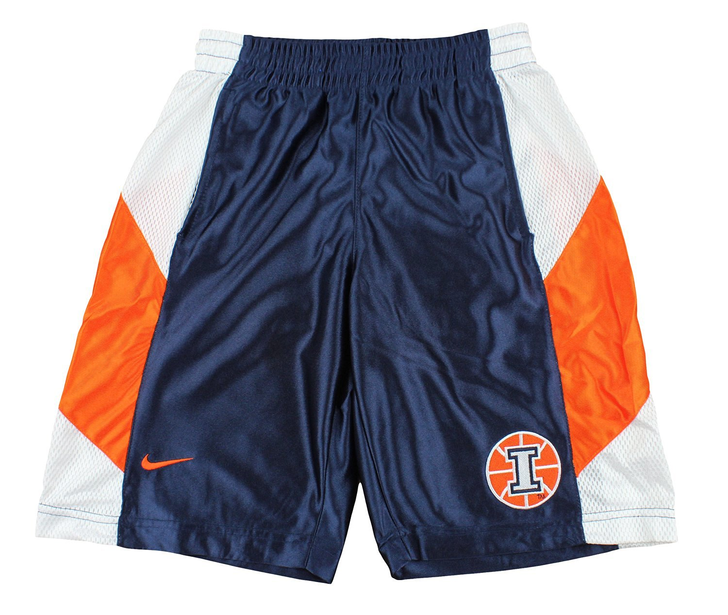 a047f6e45d Get Quotations · Nike NCAA Big Boys Youth Illinois Fighting Illini  Basketball Tourney Shorts