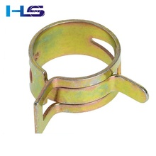 Color Zinc Plated Fuel Hose Spring Clips/Water Pipe Air Tube Clamps Fastener
