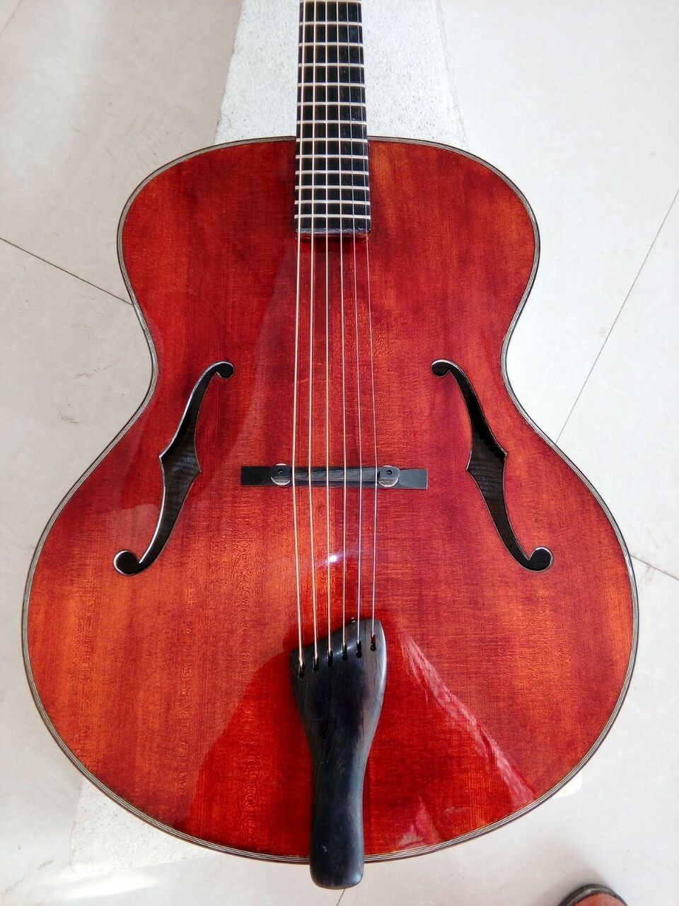 18inch AAA wood fully handmade archtop acoustic guitar