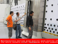 Automatic Insulating Glass Production(outer plate)doors and widnwos machine/glass machine