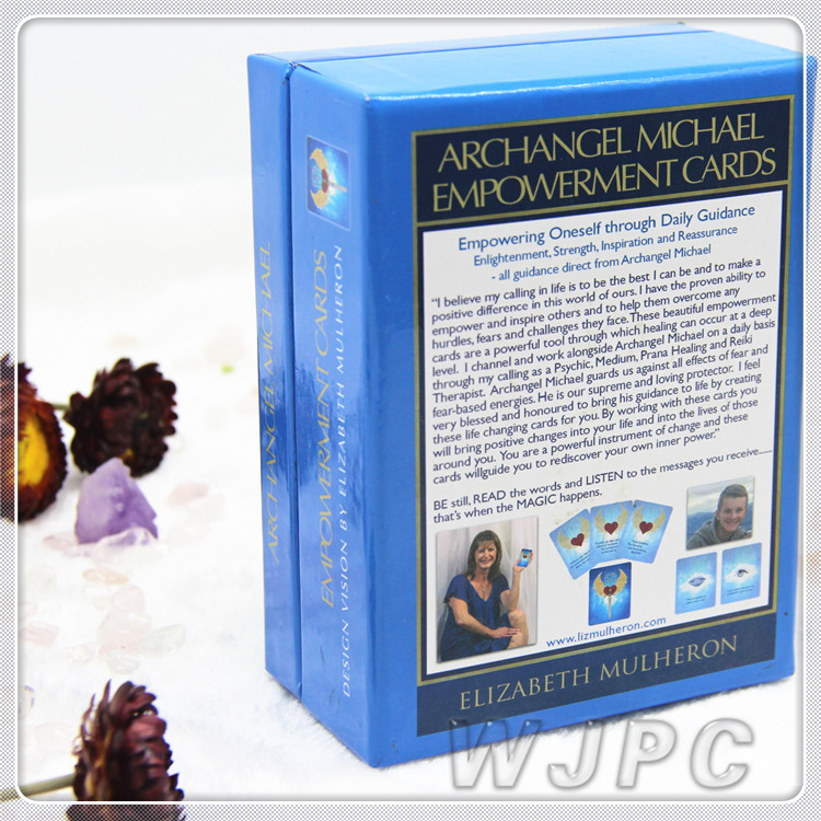 Top Sale Custom Design Paper Print Tarot Decks Of Cards With Lid And Bottom Boxes