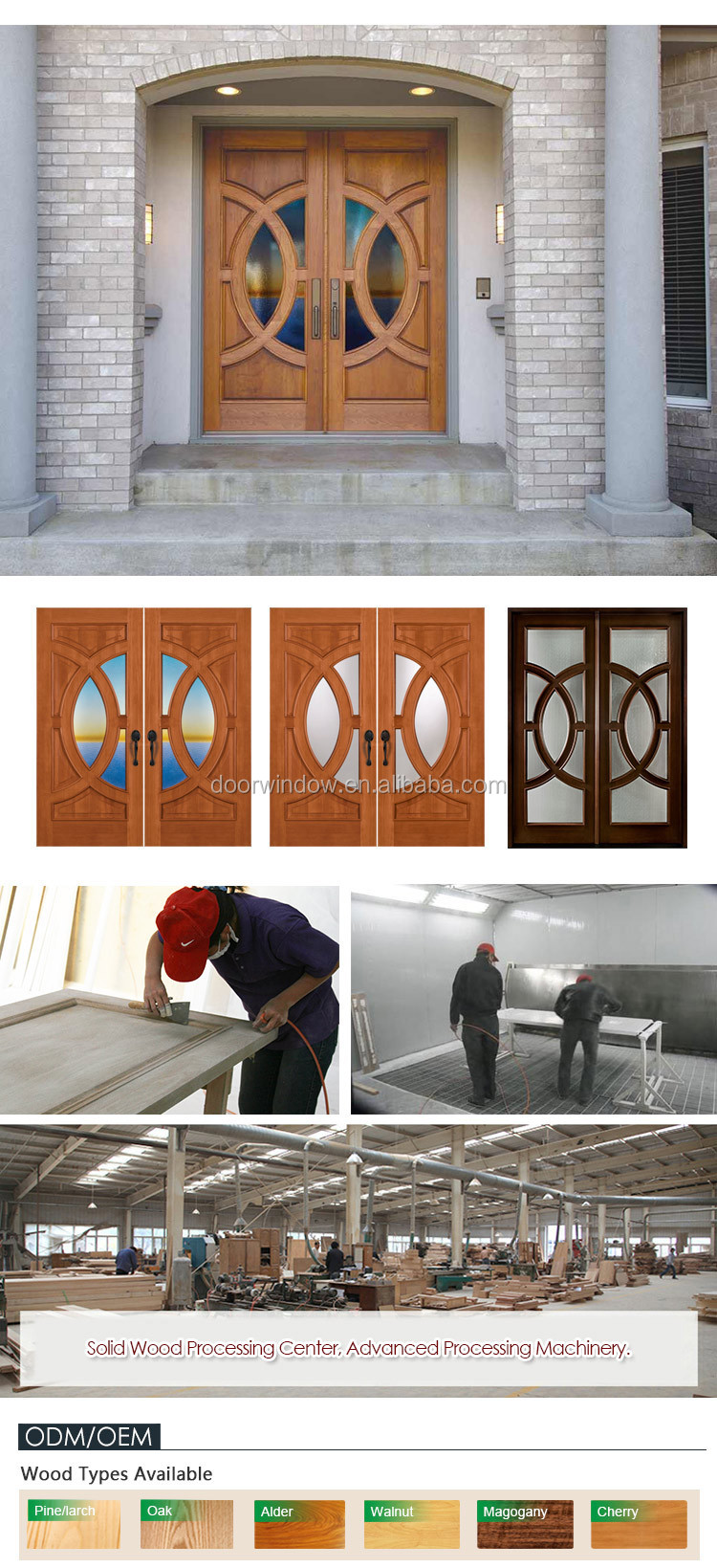 Super September Purchasing 2018 hot new products spring doors on sale door for shopping mall soundproof interior french