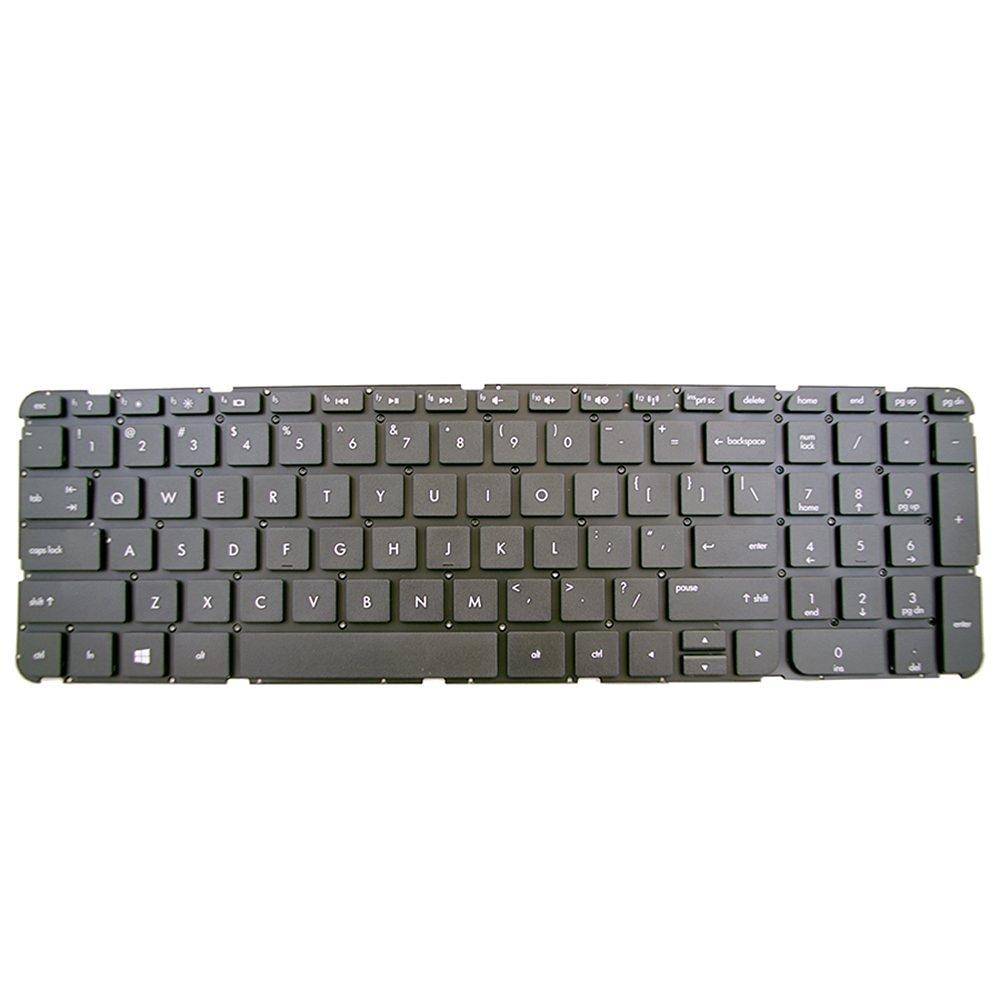 Bestcompu® NEW HP Pavilion 15-b000 15-b010us 15-b011nr 15-b004sg 15-b023cl 15-b038ca 15-b041dx 15-b055ca 15-b100 15-b107cl keyboard US no Frame Black