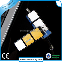 High quality Colorful Rubik's Cube USB 2.0 Flash Drive for computer/PC