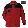 Pesso CANVAS polyester cotton red workwear jacket / safety workwear
