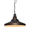 Simple round modern metal kitchen black hanging pendant light fixtures