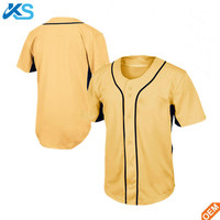 Sublimated custom LOGO activity 100% polyester mesh baseball jersey