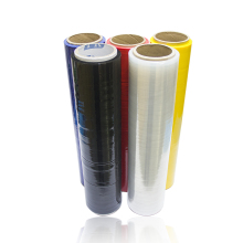 black pe plastic pallet shrink wrap stretch packing film jumbo roll