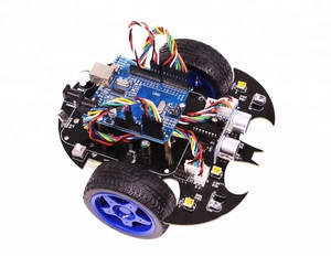 Yahboom Wireless Intelligent Control uno r3 smart bat robot car diy Learning Toy Educational arduinos robot Kit