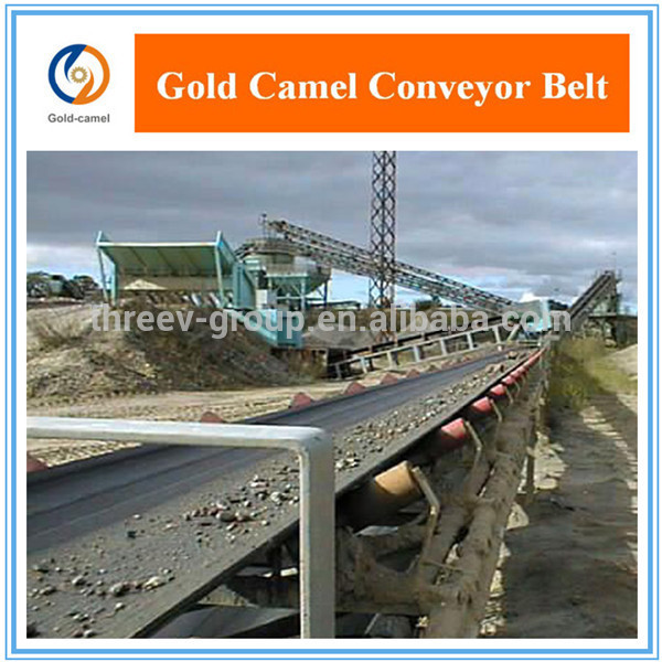 High Abrasion Resistance Rubber Conveyor Belt For Industrial conveyoring system