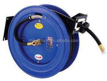 dmecl garden hose reel retractable water hose reel air hose reel rubber hose - Retractable Garden Hose Reel
