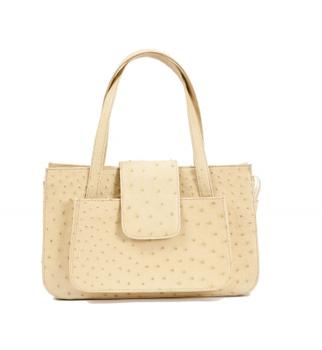 Daphne Handbag Ostrich Leather