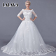 Sexy Plus Size Gowns Wedding Dress Bridal With Lace