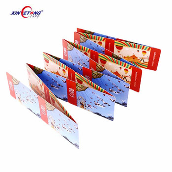 ISO 14443 Type A Fudan 1K F08 RFID Paper Card Cheap