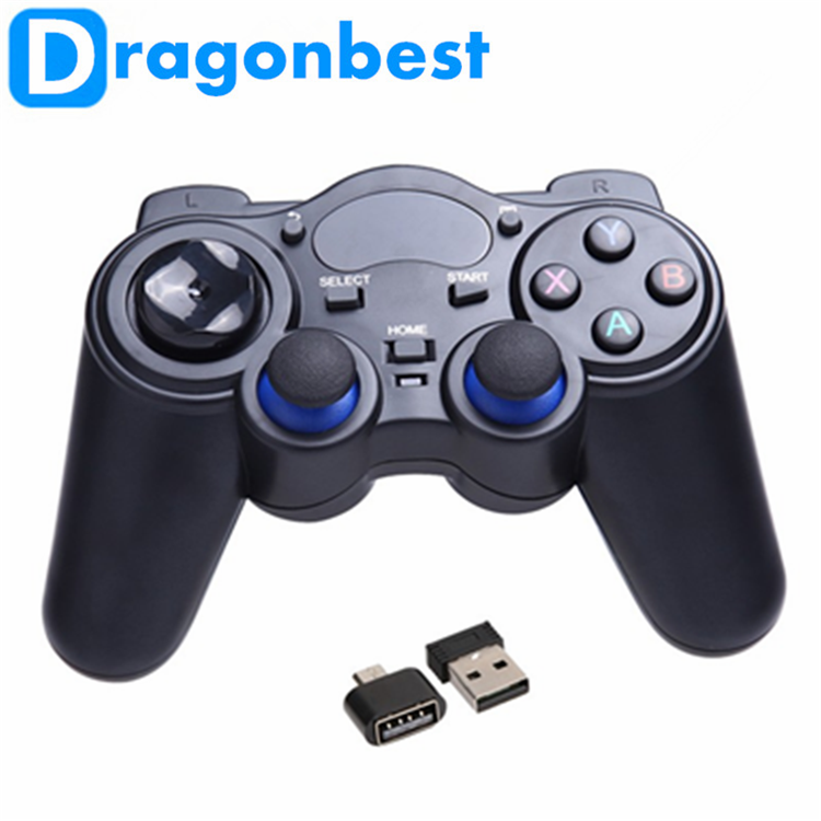 2016 best selling 2.4G RF Wireless Gamepad wirless rf joypad with quality and low price Joystick & game control